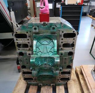 Swiss Galoppers -  So schaut das Werkzeug für den neuen Swiss Galoppers Grösse 8 aus. Es wiegt 1890 kg und ist vor zwei Wochen bei GUDO AG in Lupfig in Produktion gegangen.
