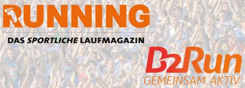 Laufmagazin RUNNING kooperiert mit B2Run