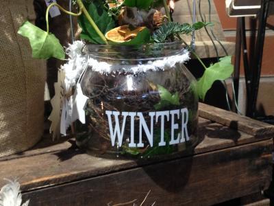 Auf Hof Oelkers wird es winterlich