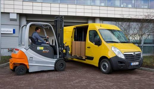 Der neue Opel Movano: Transporter für große Aufgaben