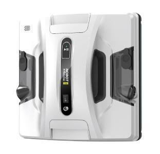 Sichler Exclusive HOBOT-2S Profi-Fensterputz-Roboter, Dual-Sprüher, Sprachausgabe, App