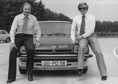 Opel Manta B GTE, George Gallion