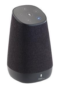 auvisio WLAN-Multiroom-Lautsprecher mit Alexa Voice Service und Akku, 30 Watt Spielt die Wunsch-Musik, beantwortet Fragen, sagt das Wetter u.v.m.
