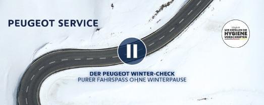 Mit dem PEUGEOT Winter-Check und Licht-Test starten Kundinnen und Kunden der Löwenmarke sicher in die kalte Jahreszeit