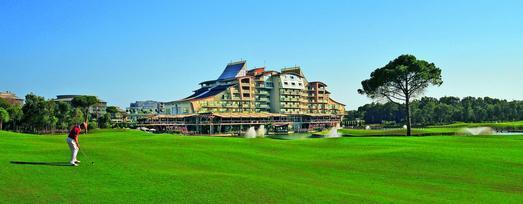 alltours bietet in seinem Sommerprogramm Urlaub in den besten Golfregionen Europas an. Zum Beispiel im Premium DeLuxe Hotel Sueno Golf (5*) im türkischen Belek