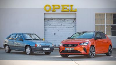 Opel Corsa-e Ancestor: Happy 30th Birthday Kadett Impuls I