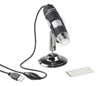 PX 2325  Somikon Digitales USB Mikroskop mit Kamera Staender