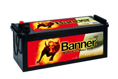 Buffalo Bull EFB – Die Bordnetzbatterie im Nutzfahrzeugsektor (Fotocredit: Banner Batterien)