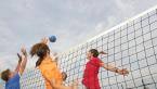 Beachvolleyball am Wasserski-Lift Zachun
