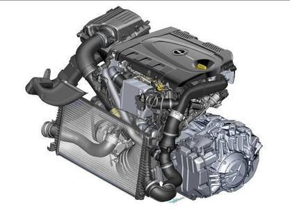 Kompaktes Kraftpaket: Bei Opels BiTurbo- CDTI teilen sich zwei unterschiedlich große Turbolader die Verdichtungsarbeit. Dadurch hängt der Motor in allen Drehzahlbereichen spontan am Gas und überzeugt durch besonders harmonische Kraftentfaltung