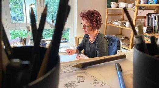Anke Faust zeichnet