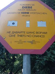 Diebstähle in Deutschland