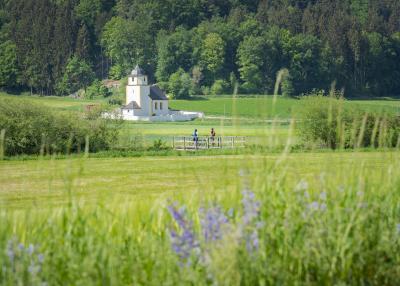 Anlautertal-Radweg bei Schafhausen