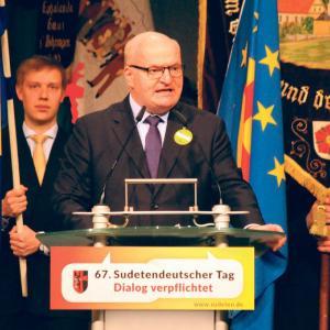 Daniel Herman am Sudetendeutschen Tag