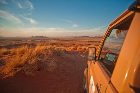 Roadtrip mit dem Jeep durch Namibia