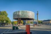 Kupfertrommel (öffentliche Bühne), Norwegen, von HUS arkitekter AS. Bild: Matthias Christoph Herzog