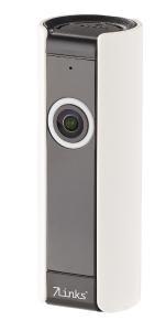 7links IP-Panorama-Überwachungskamera, 180° Bildwinkel, Nachtsicht, microSD / Bezugsquelle: PEARL.GmbH