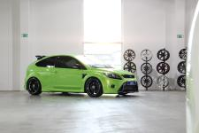 Schmidt rims and more modifications for the Ford Focus RS