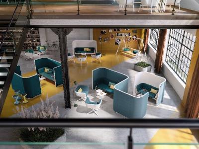 HUB, eine ausgereifte Lösung für die vielen Anforderungen der neuen Arbeitswelten