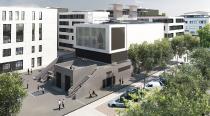 Visualisierung des Neubaus der Energiezentrale / Quelle: Klinikum Darmstadt