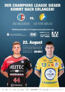 Handball: Champions League-Sieger kommt nach Erlangen / Grafik: hl-studios, Erlangen