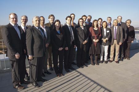 Die neuen Professorinnen und Professoren an der Hochschule Osnabrück zusammen mit dem Präsidium