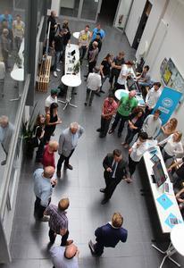 Trotz der Semesterferien war die Informatik-Projektmesse der Hochschule Osnabrück wieder ein Publikumsmagnet