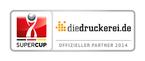 diedruckerei.de is official partner and sponsor of the Supercup 2014