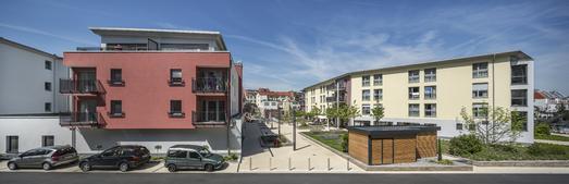 Zur Zufriedenheit der Eigentümer und Bewohner trägt die energetische und gestalterische Planung der Gebäude wesentlich bei, Foto: Caparol Farben Lacke Bautenschutz/Martin Duckek