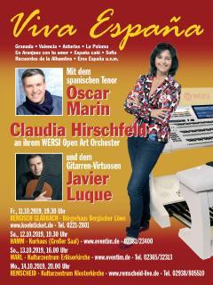 Plakat zur Konzertserie