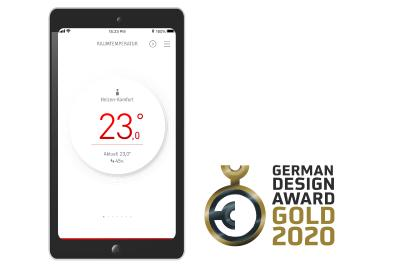 German Design Award für MyStiebel-App