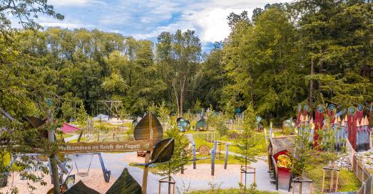Neue Abenteuerwildnis am Baumkronenpfad / Foto: T.  Mohring