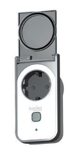 Luminea Outdoor-WLAN-Steckdose SF-550.avs, App, komp. zu Amazon Alexa & Google Assistant / Bild: PEARL.GmbH / www.pearl.de.