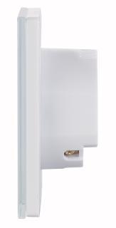 NX 4504 03 Luminea Home Control Touch Lichtschalter und Dimmer LHC 101.dimm. Amazon Alexa und Google Assistant kompatibel