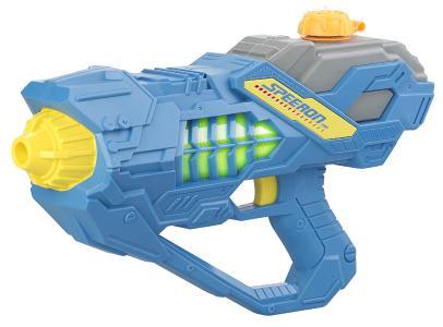 Speeron Batteriebetriebene Wasser-Spritzpistole mit LED-Lichteffekt, 450 ml