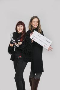 vlnr.: Cathrin Schauer-Kelpin (Vereinsgründerin KARO e.V.) und Eileen Schönheit (Öffentlichkeitsarbeit und Fundraising)
