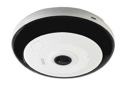 7links 360°-Panorama-Überwachungskamera IPC-525.wide mit 3,7 MP, Nachtsicht, WLAN & App / Bild: PEARL. GmbH / www.pearl.de
