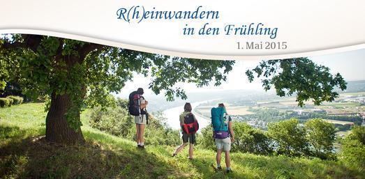 R(h)einwandern in den Frühling www.romantischer-rhein.de