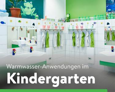 Dezentrale Warmwasserversorgung im Kindergarten