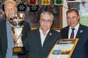 Burkhard Schwede (Mitte) Golf Trophy Sieger 2013 / Foto: Daniel Kühne