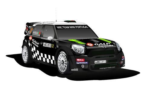 MINI John Cooper Works WRC - WRC Team MINI Portugal