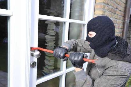 Einbrecher Tür
