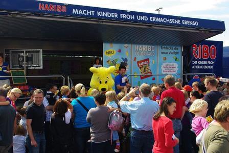 Die HARIBO-Truck Tour 2012: Ideal für Familien!