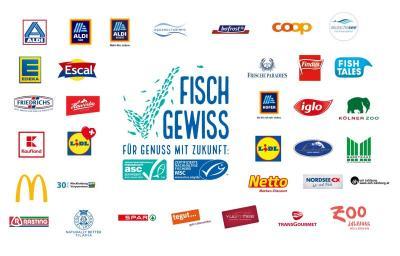 """Diese Partner unterstützen die """"FischGewiss""""-Aktionswoche"""