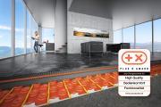 Der Keramik-Klimaboden Schlüter-BEKOTEC-THERM hat den Plus X Award für High Quality, Bedienkomfort und Funktionalität erhalten.