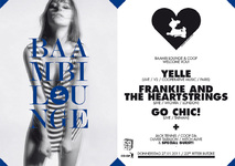 Baambi Lounge & Coop Welcome Yelle + Frankie & The Heartstrings