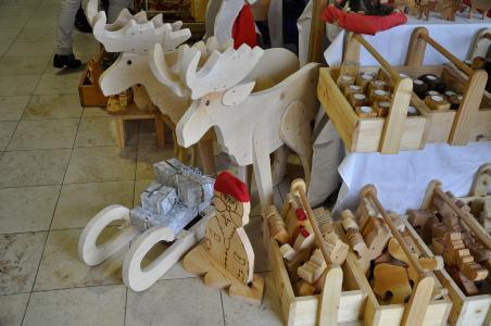 Holzfiguren Weihnachtsmartk CB