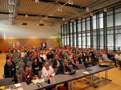 Zuhörer bei den Vorträgen