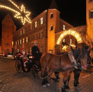 Dinkelsbühl Nikolaus mit Kutsche