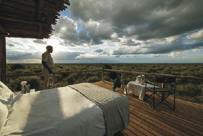"""""""Sky Beds"""" ermöglichen Übernachtungen unter freiem Himmel."""